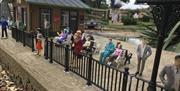 Miniature people at Southsea Model Village