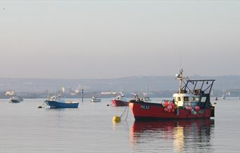 Boats at Langstone Harbour