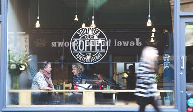 Image of the front of Southsea Coffee Co.