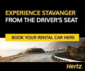 Advertisement//Experience Stavanger from the driver's seat