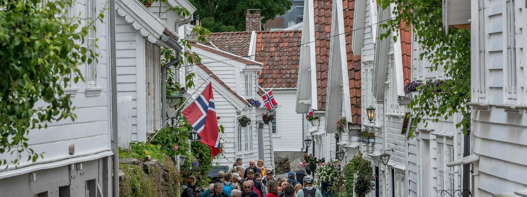 Busy day in Old Stavanger