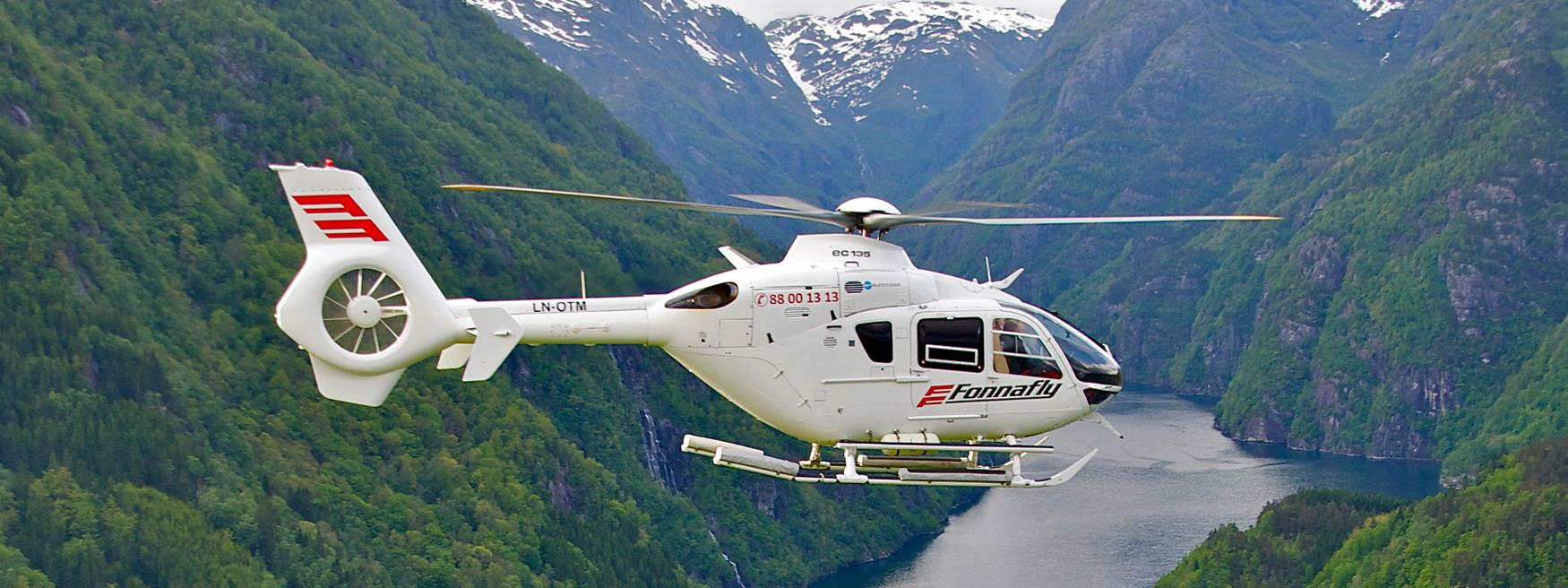Helicopter sightseeing