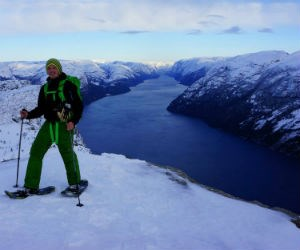 Winter hike to the Pulpit Rock © Outdoorlife Norway