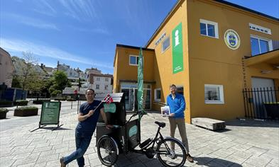 Welcome to our tourist information office in Stavanger!