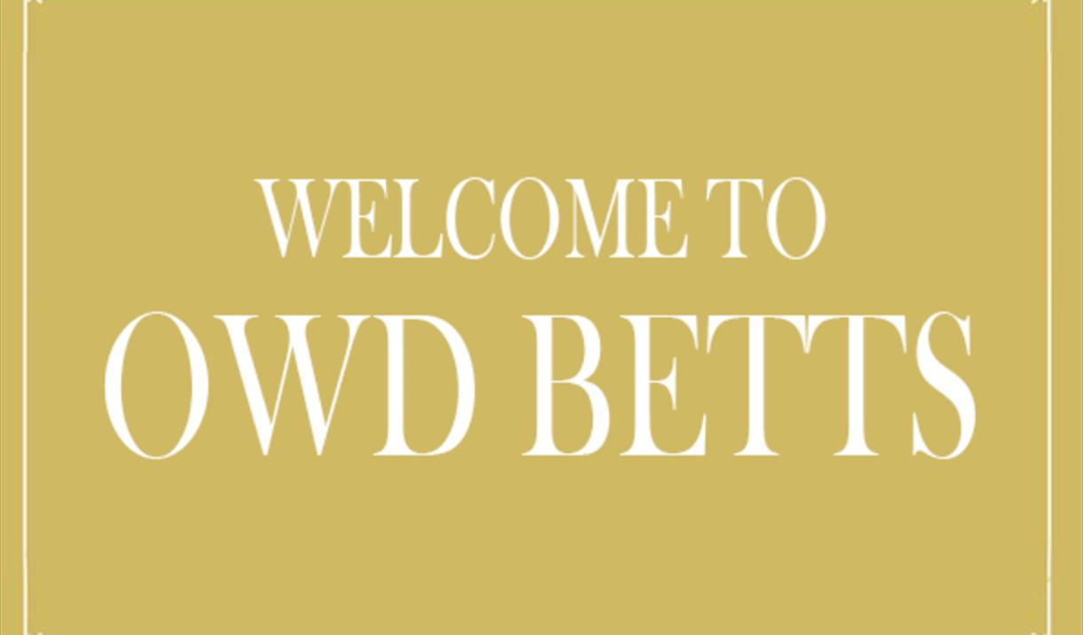 Owd Betts logo.