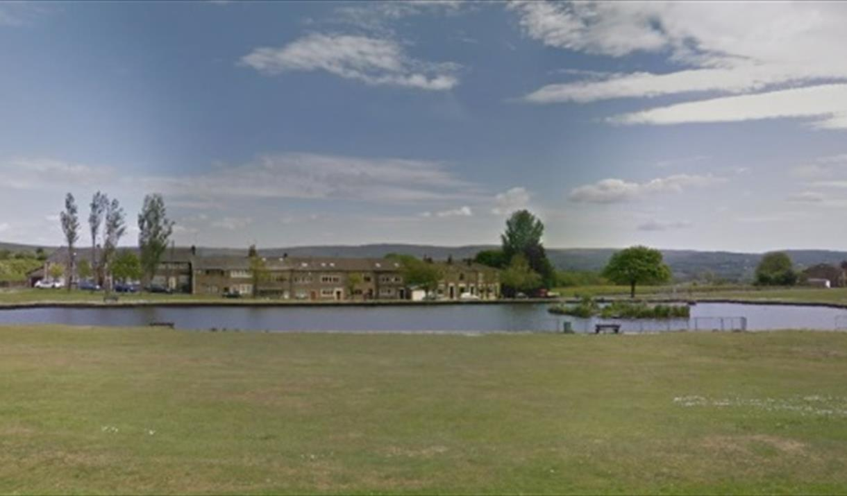 Pond at Cronkeyshaw Common.