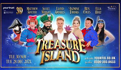 Treasure Island - Middleton's Christmas Panto 2021