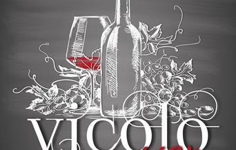 Vicolo del Vino logo.