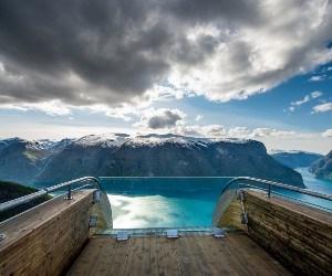 |Stegastein, Aurland © Sverre Hjørnevik