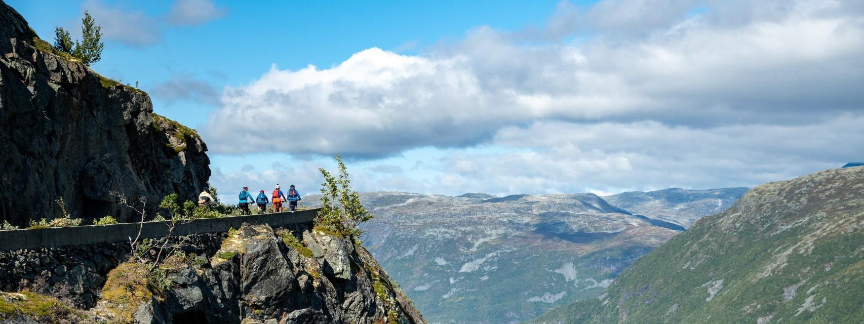 1000 meteren, Årdal © Falkeblikk AS