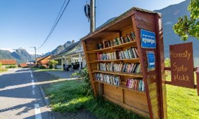 Bokbyen i Fjærland © Vegard Aasen/VERI Media