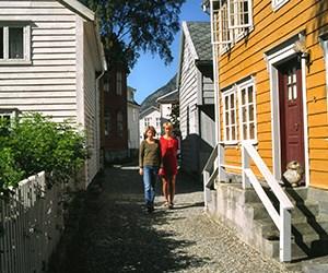 Gamle Lærdalsøyri © Lærdal Kommune
