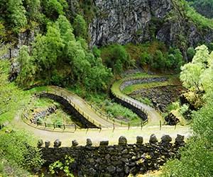 Durchblättern nach Wandern in Lærdal