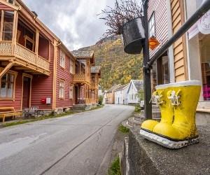 |Lærdalsøyri © Vegard Aasen/VERI Media