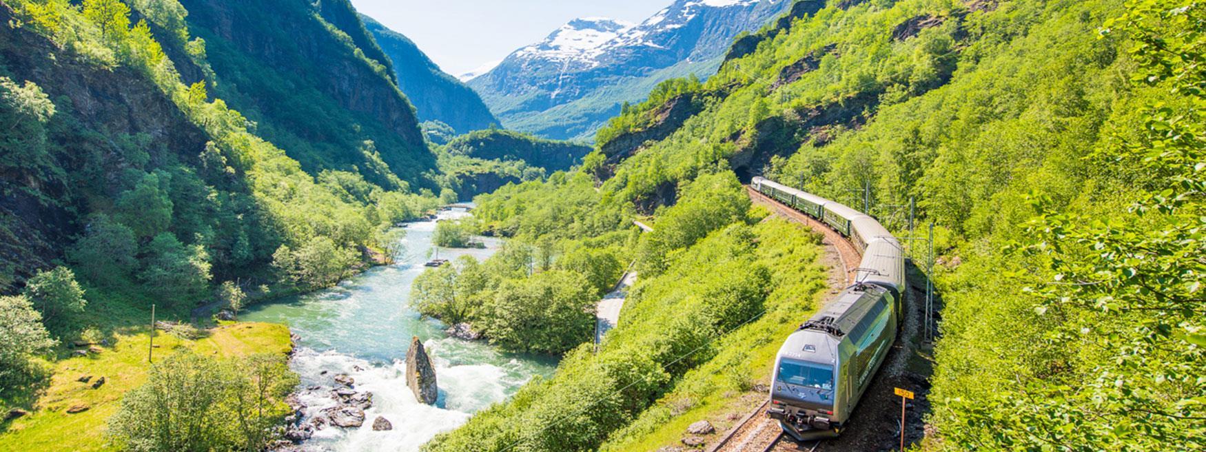The Flam Railway © Sverre Hjørnevik