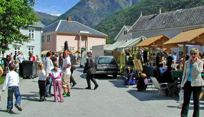 Lærdal market