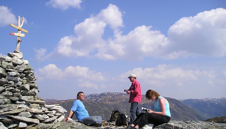 På toppen av Fuglefjellet