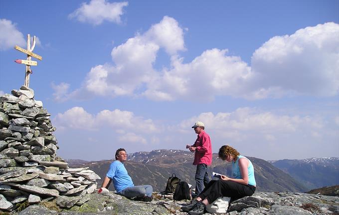 Hike in the Fuglefjell