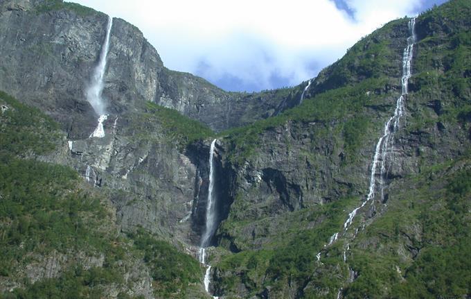 Kjelfossen Wasserfall