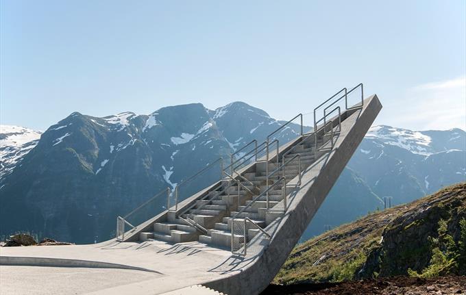 Utsikten, Nasjonal Turistveg Gaularfjellet