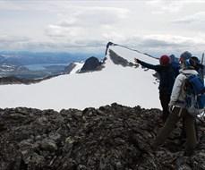 Hiking in Jotunheimen - summit trip to Falketind