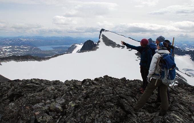 Topptur i Jotunheimen - Falketind
