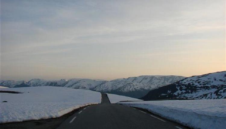 Aurlandsfjellet - Der Schneeweg