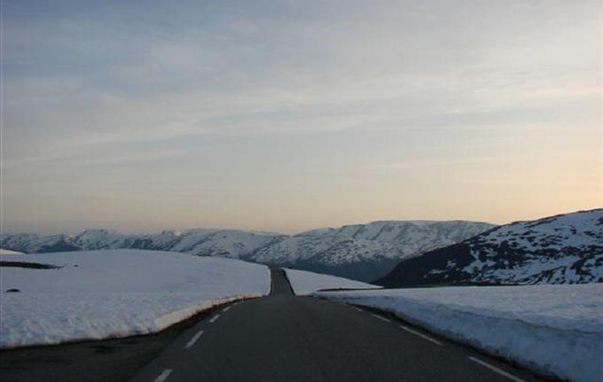 Die Landschafsrouten Aurlandsfjellet