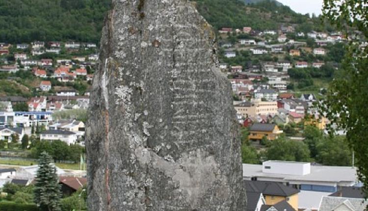 Runestone from the 1100s, Sogndal