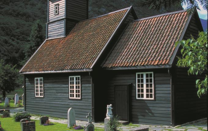 Flåm church