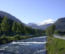Vikja - Lachsfluss