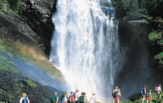 Drivandefossen Waterfall