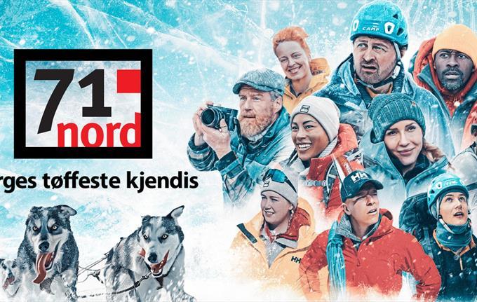 71 grader nord - Norges tøffeste kjendis