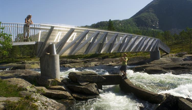 Wandern: Der Wasserfall-Pfad