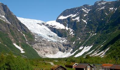 Bøyabreen Glacier, Fjærland