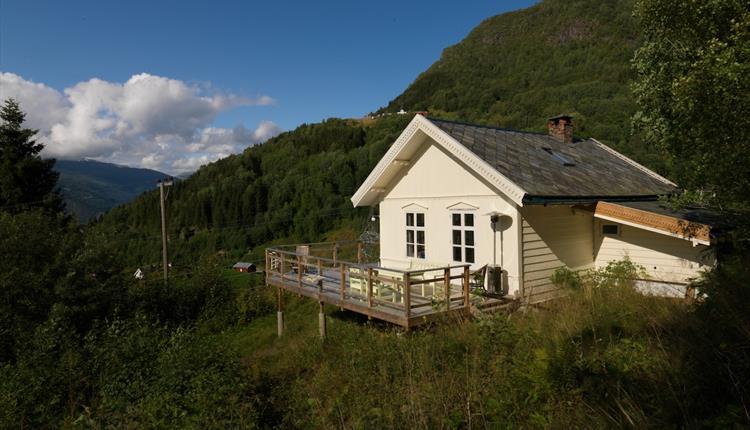 School house with veranda