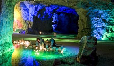 White caves