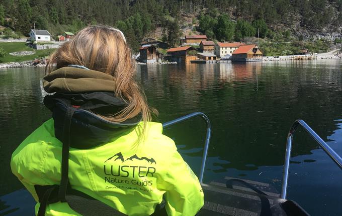 Båt til Indre Ofredal