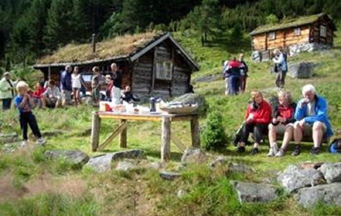 Ornes - Nystølen - Kinsedal