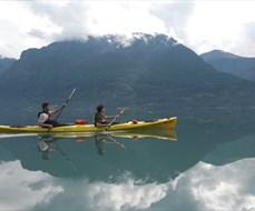 Kayak the Lusterfjord