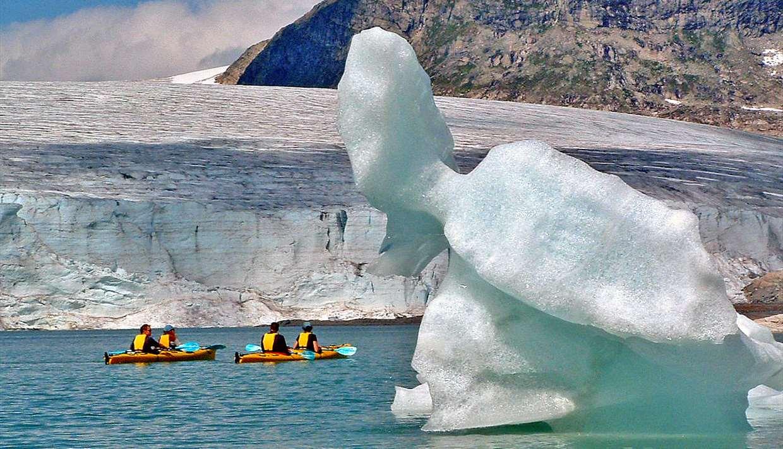 Kayaking & Glacier Walking, Luster