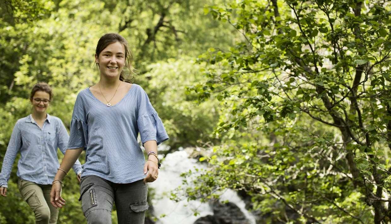 Brekkefossen Waterfall Hike