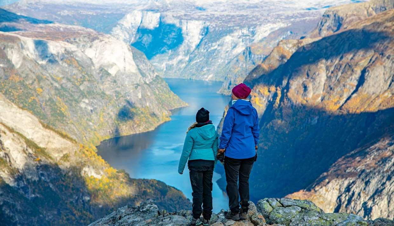 Bakkanosi - above UNESCO Nærøyfjord