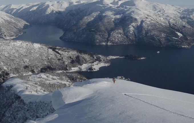 Raudmelen Topptur ski Balestrand