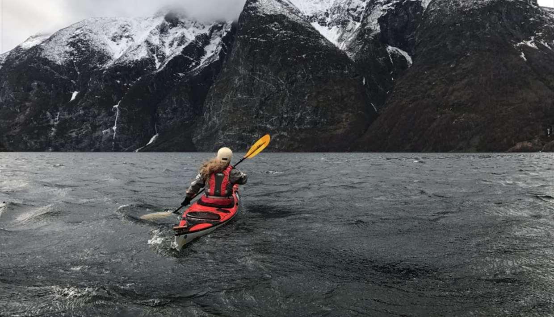 Vinterpadling med guide