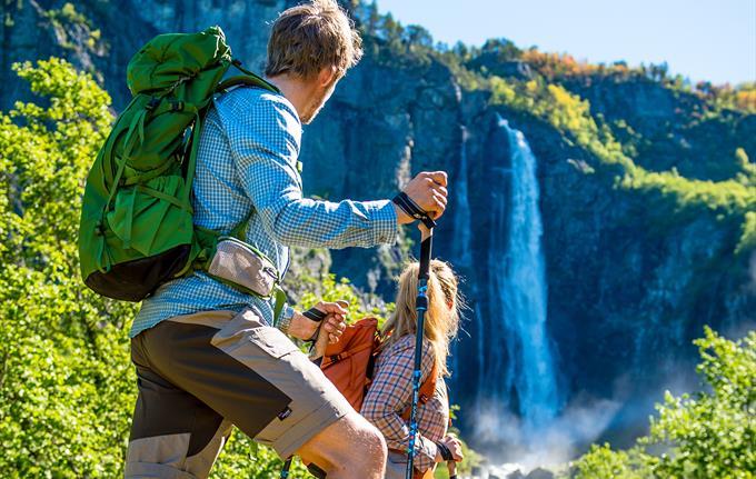 Feigefossen Wasserfall