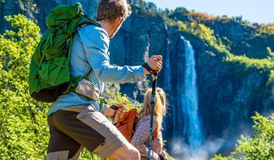 Feigefossen Waterfall