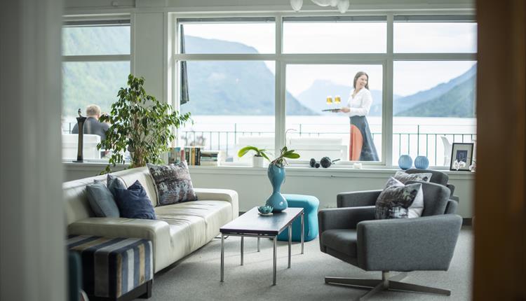 livingroom Skjolden Hotel