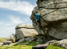 Bouldering on Dartmoor