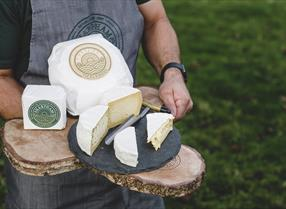 Selection of Sharpham Cheese